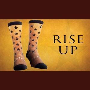 NEW Hamilton American Musical Stars Socks Sm/Med